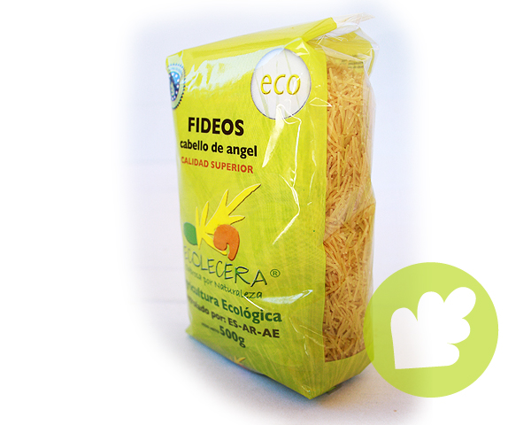 Fideo cabello de angel blanco -500gr